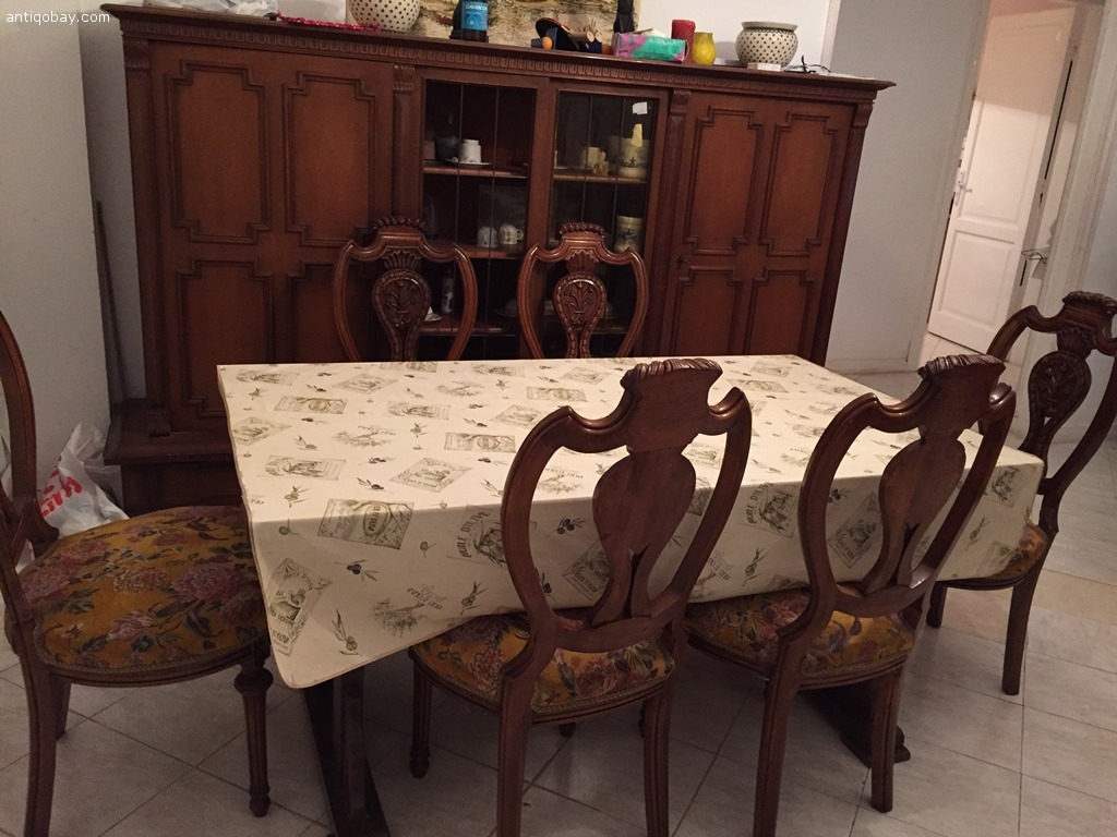 Marvelous Antique Dining Room Chair Images - Image design house plan ...