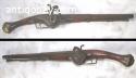 Antique Wheellock Pistol