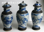 Antique Chinese Qing Dynasty GE TYPE CRACKLE glaze Porcelain
