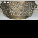 Chinese old brass pot