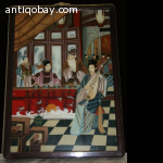 Chinese reverse glass painting 2