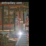 Chinese reverse glass painting 3