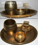 Indonesian Smoke Set 1 Brass java