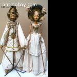 """SOLD"" Majapahit puppets from Java"