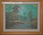 Oil Painting Indonesia Lim Wasin