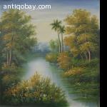 Oil Painting on Canvas Landscape 7