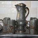 Old Chinese Drinking Set