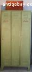 Vintage khaki locker
